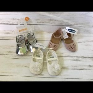 BNWT Baby Girl Shoes-Gymboree, Carter's, Old Navy